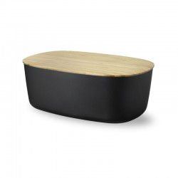 Stylish Bread Box Black - Rig-tig