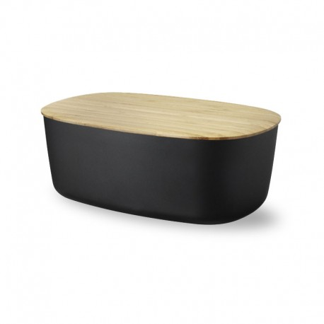 Stylish Bread Box - Box It Black - Rig-tig RIG-TIG RTZ00038