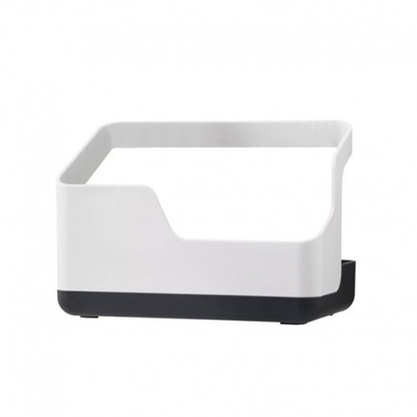 Sink Caddy Holder White And Grey - Rig-tig | Sink Caddy Holder White And Grey - Rig-tig