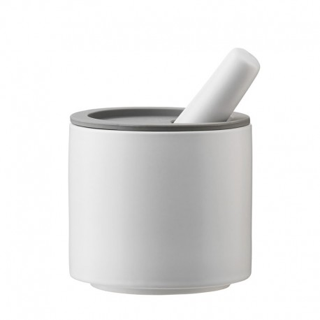 Mortar And Pestle White And Grey - Rig-tig | Mortar And Pestle White And Grey - Rig-tig