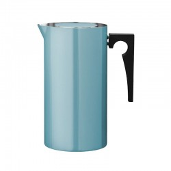 Aj French Press 1L - Arne Jacobsen Dusty Teal - Stelton