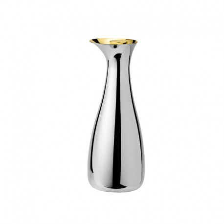 Carafe With Stopper 1Lt - Norman Foster Inox And Gold - Stelton STELTON STT720