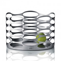 Fruit Bowl L - Embrace Stainless Steel - Stelton