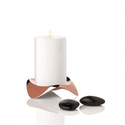 Candle Holder Ø12Cm Copper - Papilio Uno - Stelton STELTON STTX-39-2