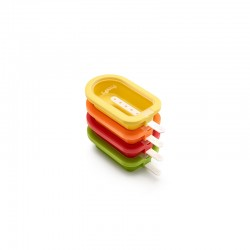 Stackable Popsicles Moulds (4Un) Assorted - Lekue