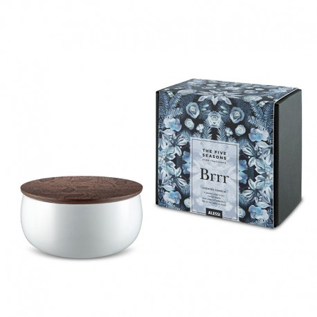 Vela Perfumada Brrr - The Five Seasons Branco - Alessi | ALESSI