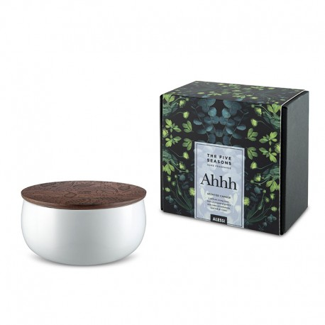 Vela Perfumada Ahhh - The Five Seasons Branco - Alessi ALESSI ALESMW62L 2W