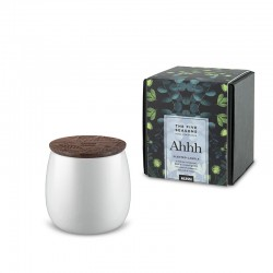 Vela Perfumada Pequena Ahhh - The Five Seasons Branco - Alessi