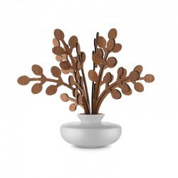 Leaf Fragrance Diffuser Brrr - The Five Seasons White - Alessi ALESSI ALESMW64 1SW