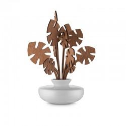 Leaf Fragrance Diffuser Hmm - The Five Seasons White - Alessi ALESSI ALESMW64 3SW