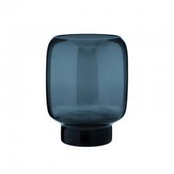 Florero 20cm - Hoop Azul Medianoche - Stelton