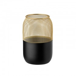 Tealight Holder Big - Collar Black And Gold - Stelton STELTON STT429