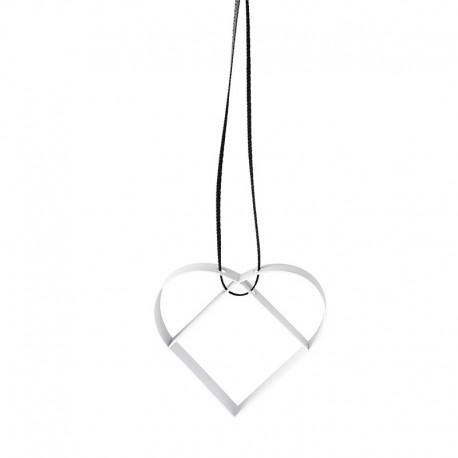 Ornamento Corazón Pequeño Blanco - Figura - Stelton STELTON STT10600-2