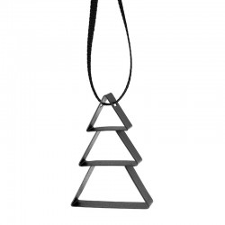 Ornamento Árvore Pequeno Preto - Figura - Stelton