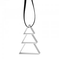 Ornamento Árvore Pequeno Branco - Figura - Stelton