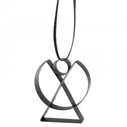 Ornamento Anjo Pequeno Preto - Figura - Stelton STELTON STT10602-1