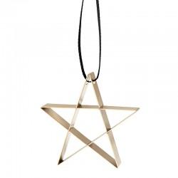 Ornamento Estrela Pequena Dourado - Figura - Stelton