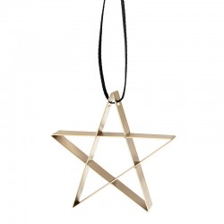 Ornamento Estrela Pequena Dourado - Figura - Stelton STELTON STT10603