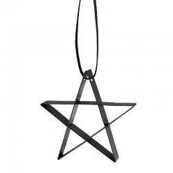 Ornamento Estrela Pequena Preto - Figura - Stelton STELTON STT10603-1