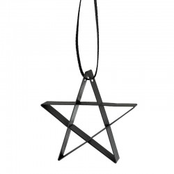 Star Ornament Small Black - Figura - Stelton