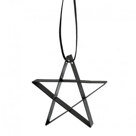 Ornamento Estrella Pequeña Negro - Figura - Stelton STELTON STT10603-1