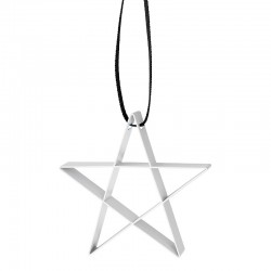 Star Ornament Small White - Figura - Stelton
