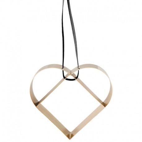 Ornamento Corazón Grande Dorado - Figura - Stelton STELTON STT10604