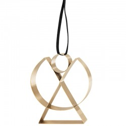 Angel Ornament Large Gold - Figura - Stelton