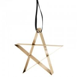 Ornamento Estrela Grande Dourado - Figura - Stelton