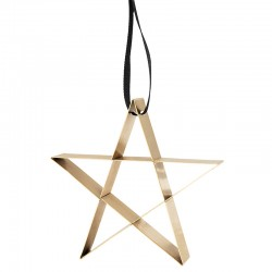 Star Ornament Large Gold - Figura - Stelton