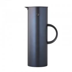 Vacuum Jug - Em77 1L Dark Blue, Metallic - Stelton