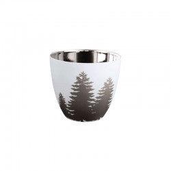 Lantern Fir Trees ø7,2cm - Xmas White And Silver - Asa Selection ASA SELECTION ASA10106427