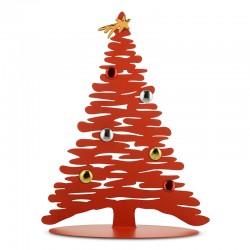 Árvore de Natal Decorativa 45cm - Bark for Christmas Vermelho - Alessi