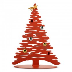 Christmas Tree 45cm - Bark for Christmas Red - Alessi