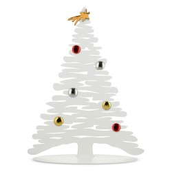 Árvore de Natal Decorativa 45cm - Bark for Christmas Branco - Alessi