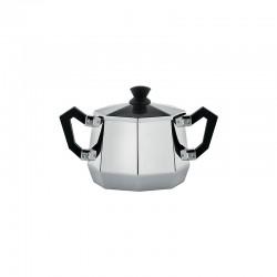 Sugar Bowl 300ml - Ottagonale Silver - Alessi