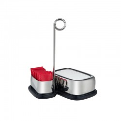 Tea and Coffee Accessories Set - Bibo Steel - Alessi