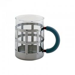 Taza con Vidrio Resistente al Calor Azul - MGMUG - Alessi