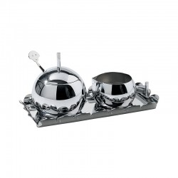 Sugar and Cream Set - Anna Set Steel - Alessi