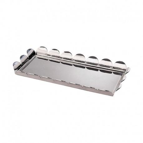 Rectangular Tray - Piccolo Recinto Steel - Alessi ALESSI ALESAM19VAS