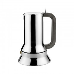 Espresso Coffee Maker 300ml - 9090 Steel - Alessi
