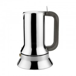 Espresso Coffee Maker 500ml - 9090 Steel - Alessi