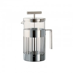 Press Filter Coffee Maker 240ml - 9094 Steel - Alessi