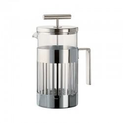 Press Filter Coffee Maker 720ml - 9094 Steel - Alessi