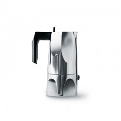 Espresso Coffee Maker 150ml - Ossidiana Steel - Alessi