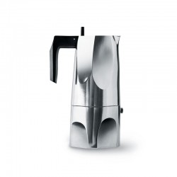 Espresso Coffee Maker 300ml - Ossidiana Steel - Alessi