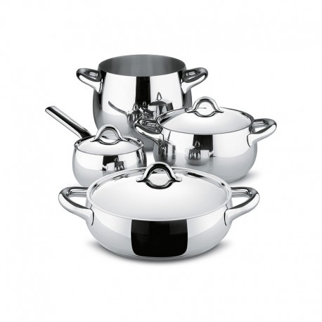 Batería de Cocina 7 Piezas - Mami Acero - Alessi ALESSI ALESSG100S7