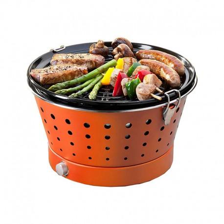 Portable Smokeless Grill - Grillerette Orange - Food & Fun FOOD & FUN FFGRC2004
