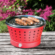 Portable Smokeless Grill - Grillerette Red - Food & Fun FOOD & FUN FFGRC3020