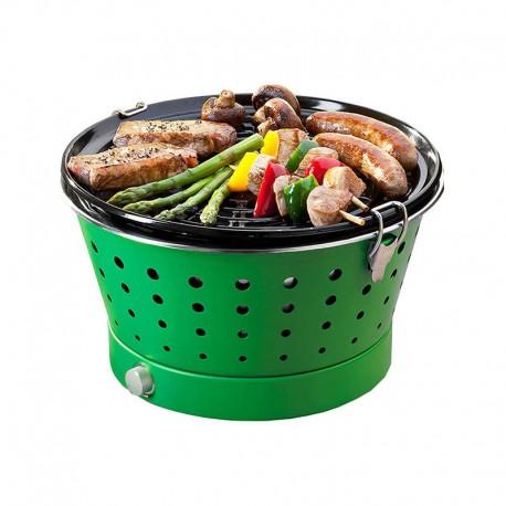 Portable Smokeless Grill - Grillerette Green - Food & Fun FOOD & FUN FFGRC6018